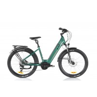 Black ATB-L (All Terrain) Electric Bike 48V