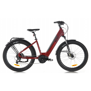 Black ATB (All Terrain) Electric Bike