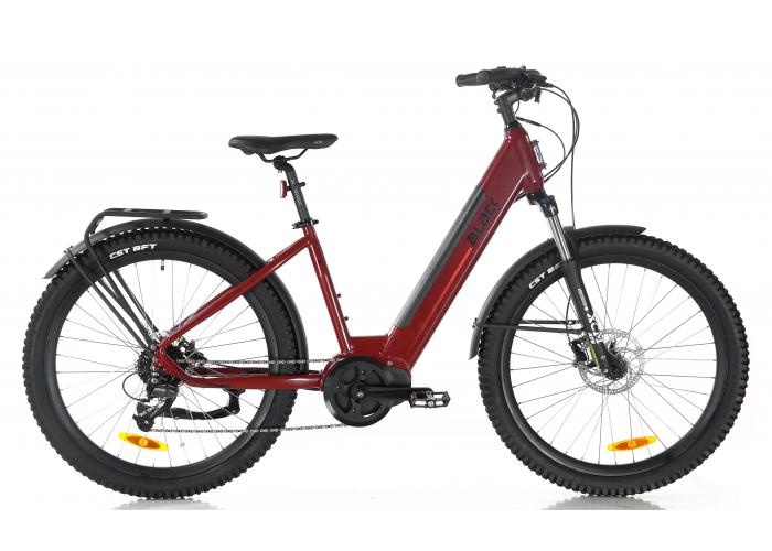 Black ATB (All Terrain) Electric Bike