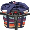 KLICKfix Bike Basket Artist Stripes