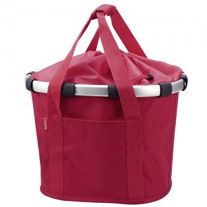 KLICKfix Bike Basket Red